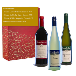 Weinpräsent Kleine Weinprobe